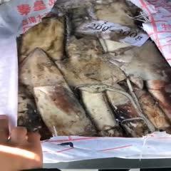 江苏省连云港市赣榆区 船冻北太鱿鱼2件起批,不包邮